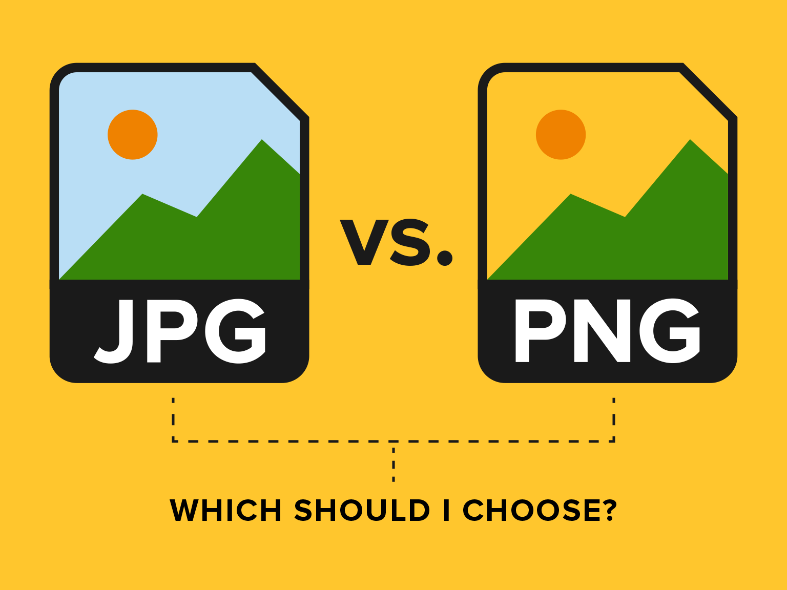 PNG vs JPG: which one is better for your site development