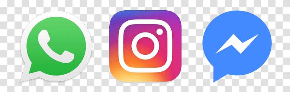 Facebook Whatsapp Instagram Messenger Logo Trademark Transparent Png Pngset Com