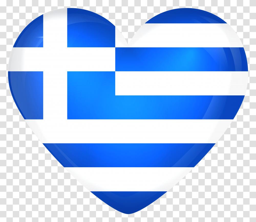 Greece Flag Heart, Balloon, Logo Transparent Png – Pngset.com
